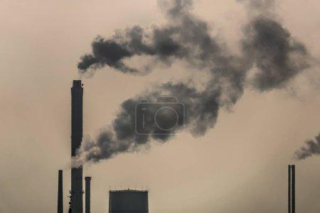 吸烟烟囱, 空气污染环境