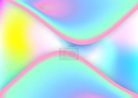 具有动态元素和形状的液体背景.