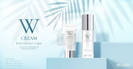 Skin care set ads