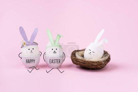 蛋兔家族。新生儿概念.