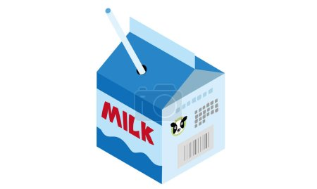 a small size milk packs