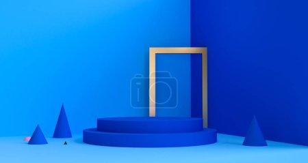 几何形状最小,3D 渲染.